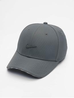 Nike Snapback Caps U Nsw Clc99 Swoosh šedá