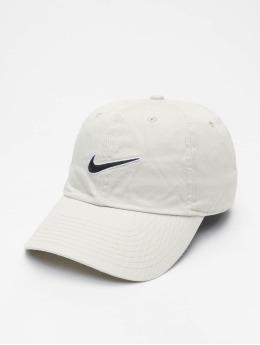 Nike Snapback Caps U Nsw H86 Swoosh Wash bialy