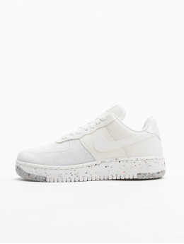 Nike Sneaker W Air Force 1 Crater bianco