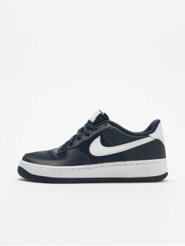 Nike Sneaker Air Force 1 Vday (GS) blau