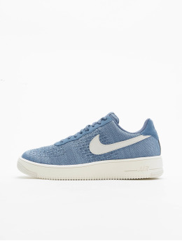 Nike Sneaker Air Force 1 Flyknit 2. blau