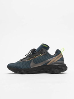 Nike sneaker React Element 55 blauw