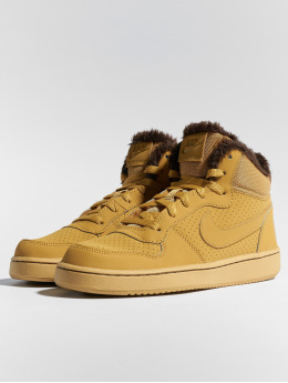 Nike sneaker Court Borough Mid bruin