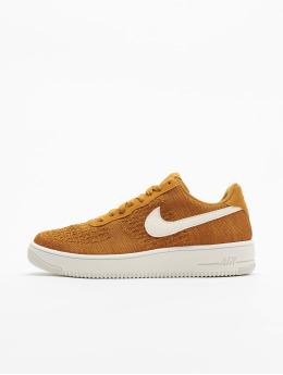 Nike sneaker Air Force 1 Flyknit 2.0 goud