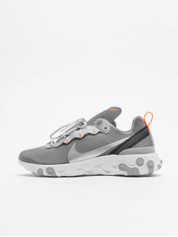 Nike sneaker React Element 55 grijs