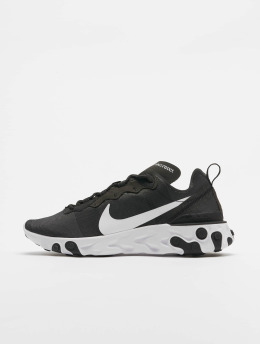 Nike Sneaker React Element 55 schwarz