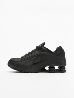 Nike Sneaker Shox R4 (GS)  schwarz