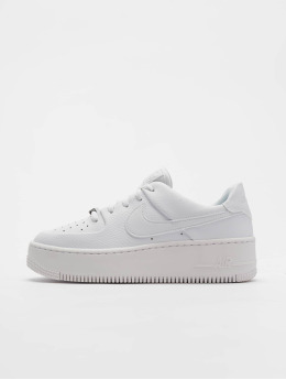 sports shoes f56f1 7a298 Nike Sneaker Air Force 1 Sage Low weiß