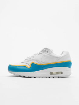 Nike Air Max 1 SE Sneakers White/White/Lt Blue Fury/Topaz Golden