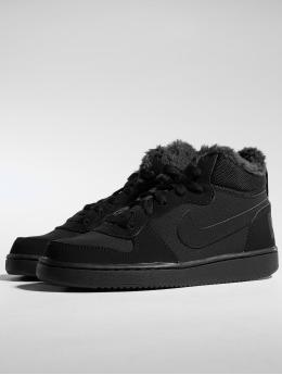 Nike sneaker Court Borough Mid Winter zwart