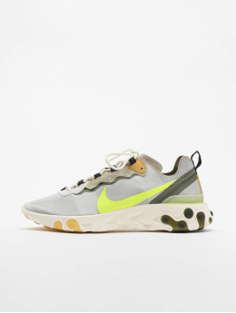 Nike Sneakers React Element 55 šedá