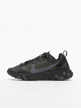 Nike Sneakers React Element 55 Premium  black