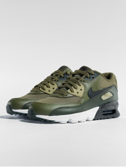 Nike Sneakers Air Max 90 Mesh (GS) oliv