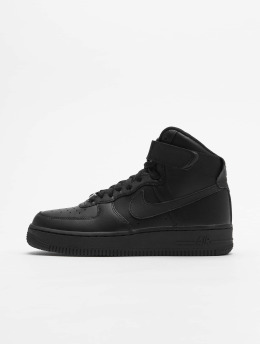 Nike Sneakers Womens Air Force 1 svart