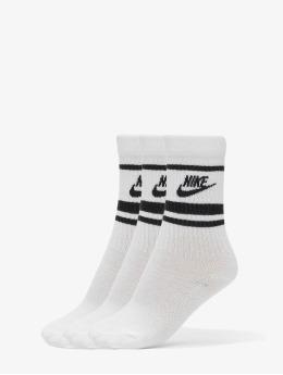Nike Sokken Crew Essential Stripe wit