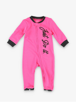 Nike Sonstige Nkg Jdi Footed Coverall W Hdbd pink