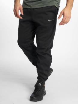 Nike Spodnie do joggingu Therma czarny