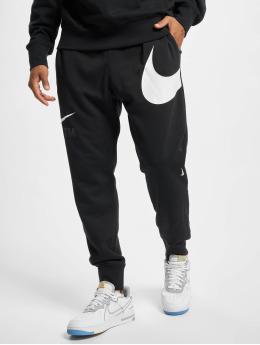 Nike Spodnie do joggingu Swoosh Sbb czarny