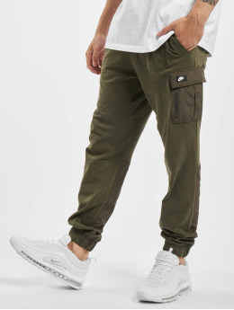 Nike Spodnie do joggingu Mix Jogger khaki