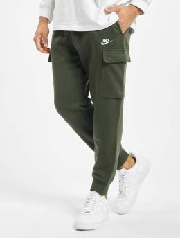 Nike Spodnie do joggingu Club oliwkowy