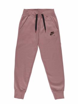Nike Spodnie do joggingu Air Regular Fleece pink