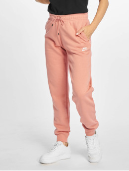 Nike Spodnie do joggingu Essential Regular Fleece rózowy