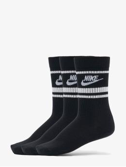 Nike Sukat Essential Stripe 3 Pack musta