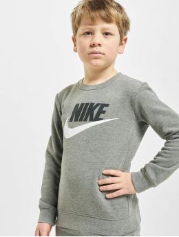 Nike Svetry Nkb Club Hbr šedá
