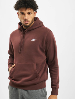 Nike Sweat capuche Club  brun