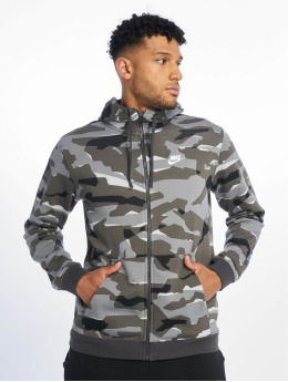 Nike Sweat capuche zippé Club Camo FZ FT camouflage