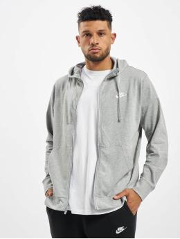Nike Sweat capuche zippé Club Full Zip JSY gris