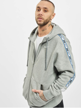 Nike Sweat capuche zippé Repeat Fleece Full Zip gris