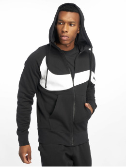 Nike Sweat capuche zippé HBR FZ FT noir