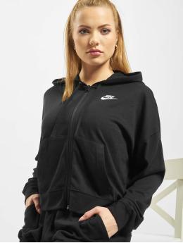 Nike Sweatvest FZ JRSY zwart