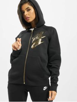 Nike Sweatvest Full Zip BB Shine zwart
