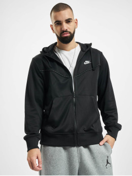 Nike Sweatvest Repeat PK Full zwart