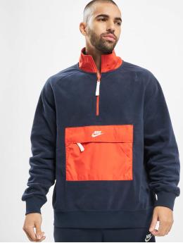 Nike Swetry Colorblock niebieski