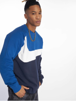 Nike Swetry Stripes niebieski