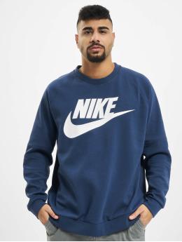 Nike Swetry Modern Crew Fleece HBR niebieski