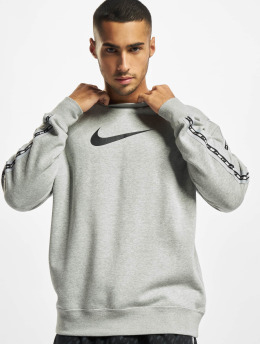 Nike Swetry Repeat Crew szary