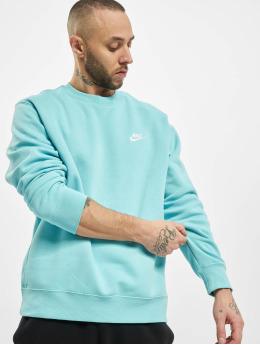 Nike Swetry Club Crew BB  turkusowy