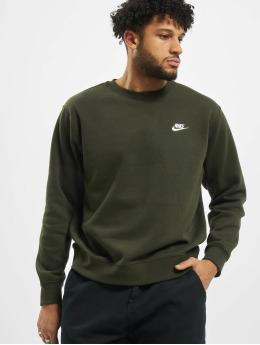 Nike Swetry Club Crew BB  zielony