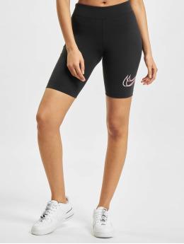 Nike Szorty W Nsw Essntl Prnt czarny