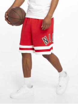 Nike Szorty Air Fleece czerwony