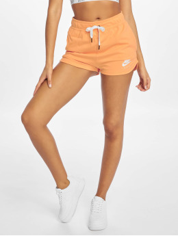 Nike Szorty Sportswear Air Fleece pomaranczowy