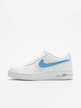 Nike Tøysko Air Force 1-3 hvit