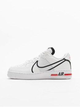 Nike Tøysko Air Force 1 React hvit
