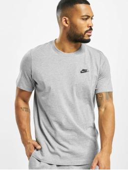 Nike T-paidat Club harmaa