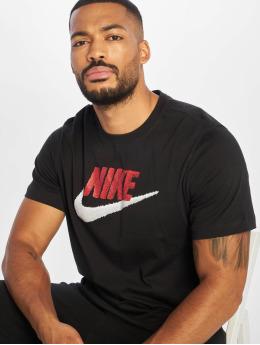 Nike T-paidat Brand Mark musta