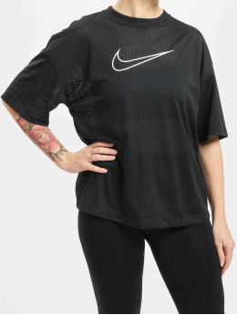 Nike T-paidat Mesh  musta